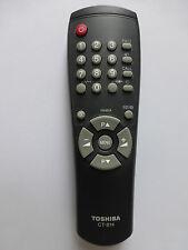 TOSHIBA TV REMOTE CONTROL CT-814 for CF19H25 CZ19H31