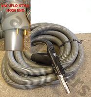 Genuine Vacuflo 30' E-z Grip Central Vacuum Hose, For Vacuflo-style Valves
