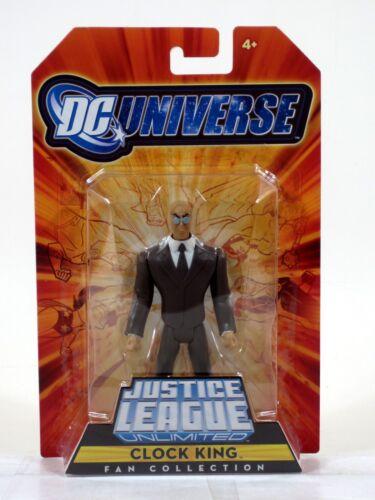Justice League Unlimited CLOCK KING Gotham City Criminals EXCLUSIVE Figure NIP
