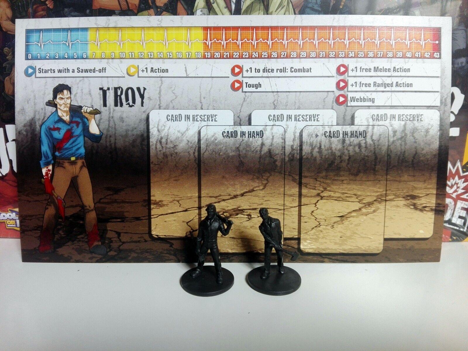 TROY (Evil Dead - Ash) - Zombicide - Kickstarter Exclusive T1