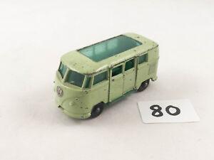 V RARE LESNEY MATCHBOX # 34B VOLKSWAGEN VW SPLITSCREEN ...