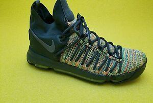 wholesale dealer c2fd9 d4bfc Details about Nike Zoom KD 9 Elite LMTD Multi Color Black 909438-900  Warriors Kevin Durant KD9
