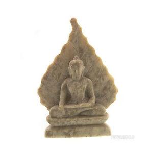 Statua-Di-Budda-E-Foglie-Da-Bodhi-IN-Pietra-Budda-India-Peterandclo-5904