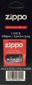 1-x-ZIPPO-LIGHTER-WICK-ORIGINAL-GENUINE-NEW-SERVICE-PART