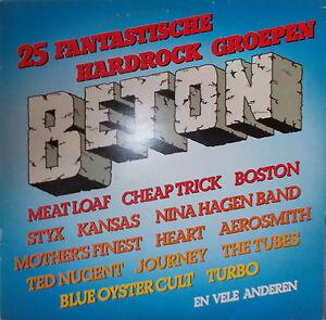 2-LP-s-Beton-25-Fantastische-Hardrock-Groepen-NEAR-MINT-Holland-Press-CBS-88456