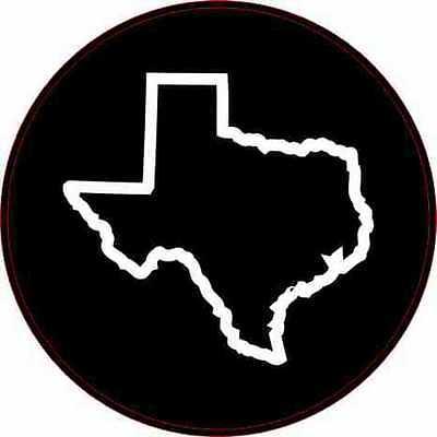 Texas outline stamp. Delrin laser engraved clicker stamp