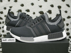 5e4b9fb9d4c6e 2016 ADIDAS NMD R1 PK PRIMEKNIT JAPAN BOOST SOLID GREY UK 8 US8