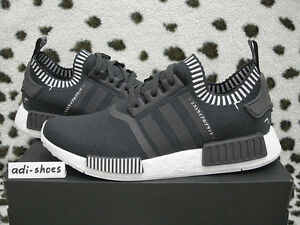 2016 ADIDAS NMD R1 PK PRIMEKNIT JAPAN BOOST SOLID GREY UK 8 US8 35ab0f206f