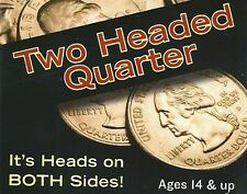 Double Sided Quarter Heads - Two headed coin