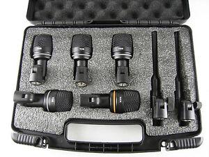 LD-Systems-D-1017-SET-Mikrofonset-fuer-Schlagzeug-7-teilig-Schlagzeugmikroset