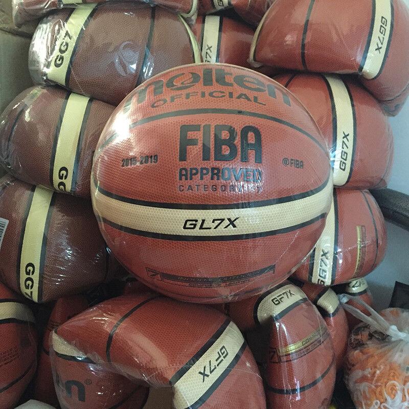 New Molten Basketball GL7X GL6X GG5X PU Size 7 6 5 indoor outdoor training ball
