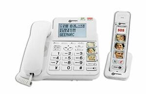 Geemarc-Amplidect-Combi-Photo-295-Corded-amp-Cordless-Telephone-Caller-ID-amp-SOS