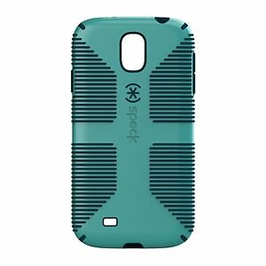 the latest 2e477 4e469 Details about Speck Products CandyShell Grip Samsung Galaxy S4 Case -  Caribbean Blue/Deep Sea