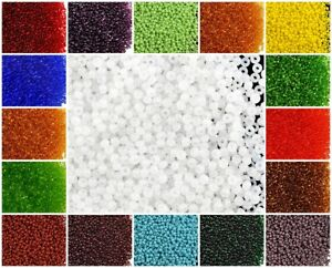 CHOOSE-COLOR-20g-11-0-2mm-Seed-Beads-Rocailles-Preciosa-Ornela-Czech-Glass
