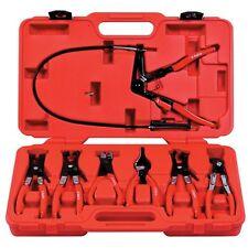 Astro Pneumatic 9406 7 piece Hose Clamp Pliers Assortment Kit