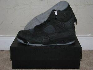 the best attitude 4020d fc524 Image is loading KAWS-x-Nike-Air-Jordan-4-IV-Retro-