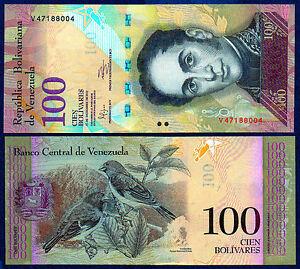 Venezuela 100 Bolivares X 50 PCS P 93 XF and better Bundle Pack