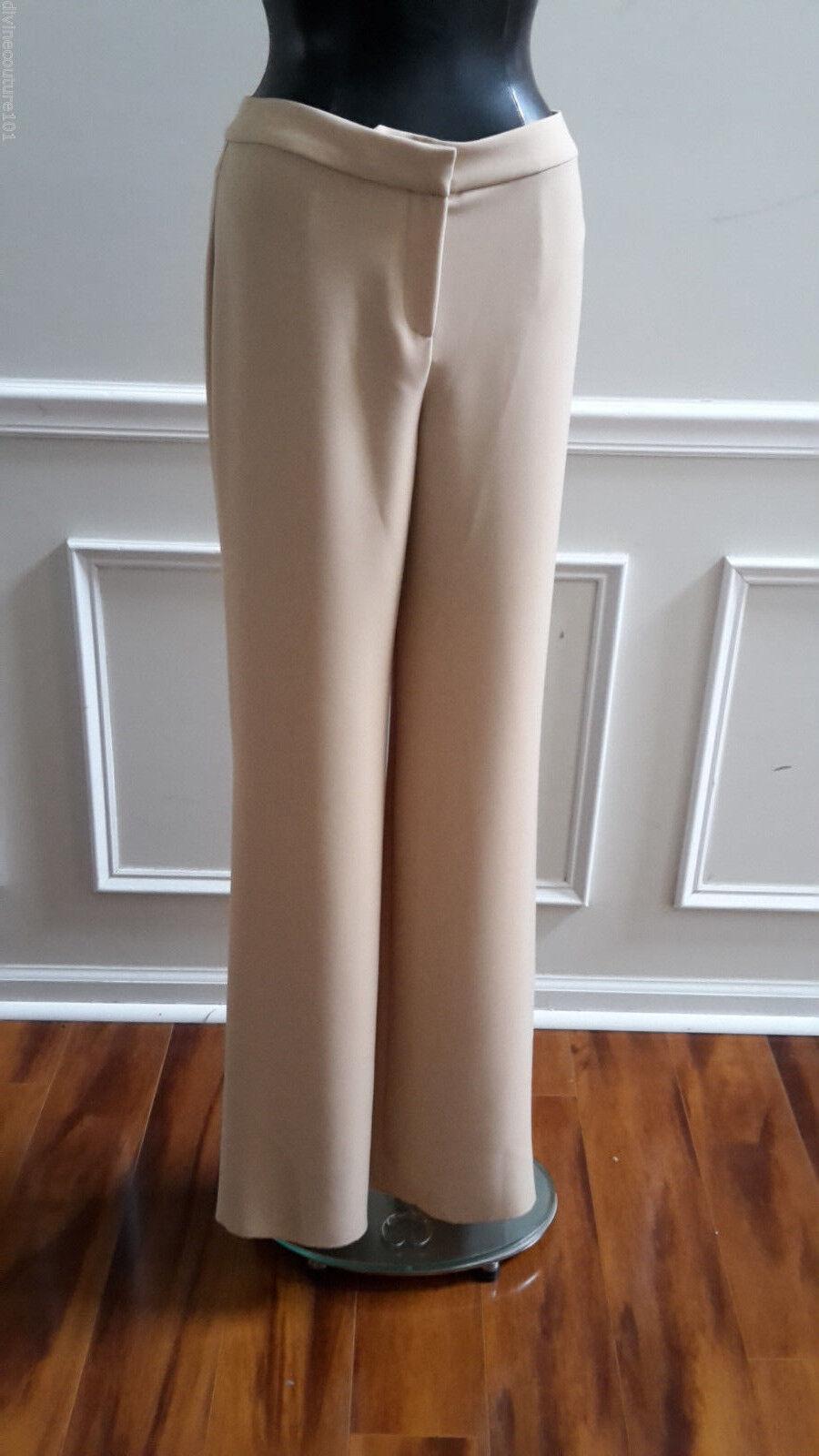 NEW ST.JOHN (ANISE) TAN DRESS PANT SIZE 4