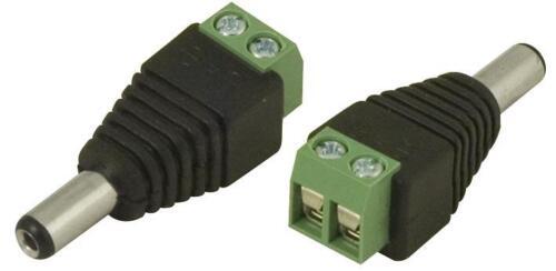 CANNA DC Plug 2.1X5.5Mm VITE Termini-Clb-Jl-52