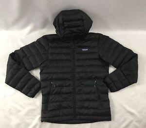 f4b36b7a Patagonia Men's Down Sweater Hoody Puffer Jacket Black Size 2XL   eBay