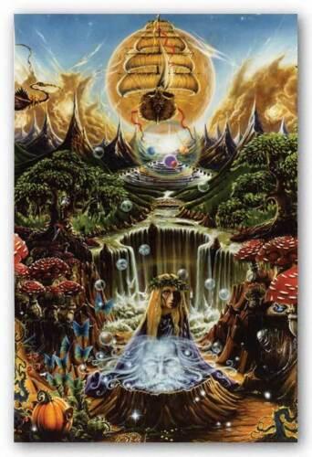 DRUG POSTER Labyrinth Falls Richard Biffle