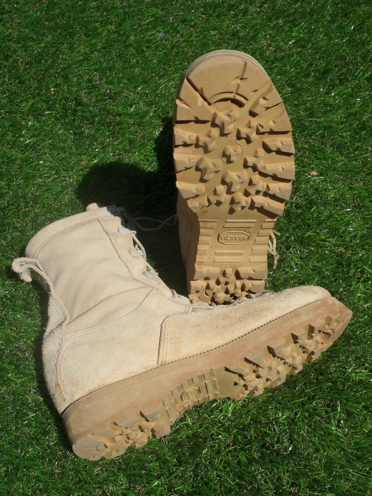 McRae Militar Ejército botas botas Desierto 3 Layer Temperate clima GORTEX USGI R 8 GC
