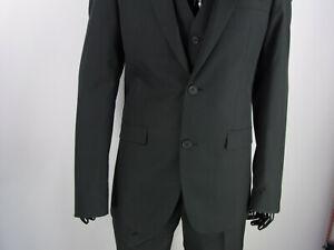 kostengünstig noch nicht vulgär feine handwerkskunst Details zu Herren Anzug Männer Anzug mit Weste Designer Model Marken Artikel