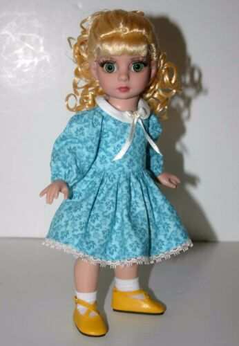 """Sunday Best Dress Doll Clothes Sewing Pattern for 10/"""" Patsy Tonner"""