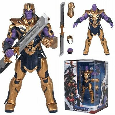 "Endgame Armored Thanos Toy Gift 8/"" Action Marvel Legends Thanos Figure Avengers"