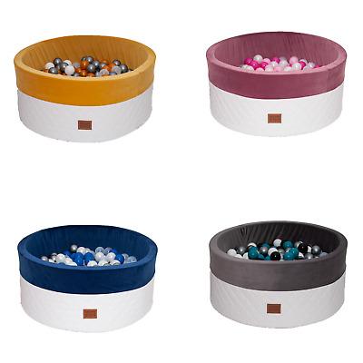 Bällebad Mehrfarbig mit 300 Bälle 90x40 Kugelbad Bällebecken Spielbecken kinder
