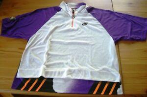 Confiant Nike Challenge Court L'original Andre Agassi Tennis Shirt Vintage, Taille S = 44/46-afficher Le Titre D'origine