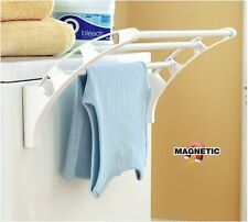 Magnetic Bathroom Toilet Washing Machine Fridge Multi purpose Clothes Rack