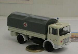 """/""""Deutsches Rotes Kreuz/"""" #094904 WIKING Modell 1:160//N Pritschen-Lkw Magirus"""