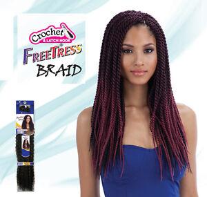 Image Is Loading Freetress Braid Crochet Hair Senegalese Twist Large