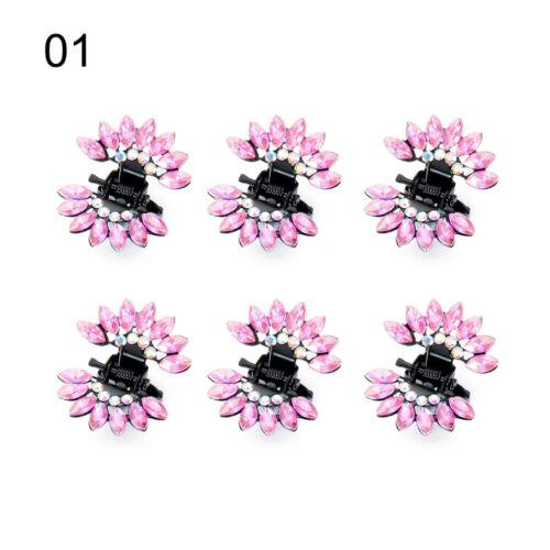 Mini Hairpins Flower Hair Claws Butterfly Hair Clips Girls Hair Accessories