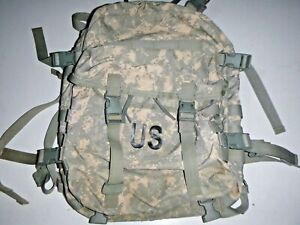 USGI Military ACU Molle 3-Day Assault Pack Backpack (No Stiffener) GOOD USED