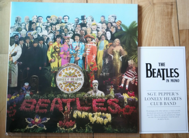 LP, The Beatles, Sgt. Pepper's Lonely Hearts Club Band…