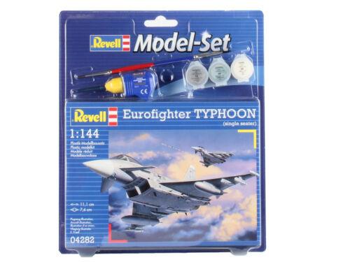 Eurofighter Typhoon Fighter Set 1:144 Plastic Model Kit REVELL
