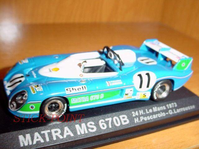 MATRA MS 670 B 1 43 LE MANS 1973 H.PESCAROLO