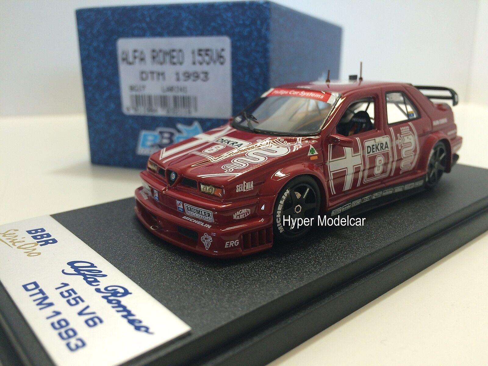 Bbr Förlaga 1 43 Alfa Romeo 155 V6 Ti35;8 DTM 1993 N.Larini Art.Bg17
