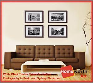 Set 4 Pcs 16x22 40x60 Photo Frame Wall Art Decor Set Picture Frames