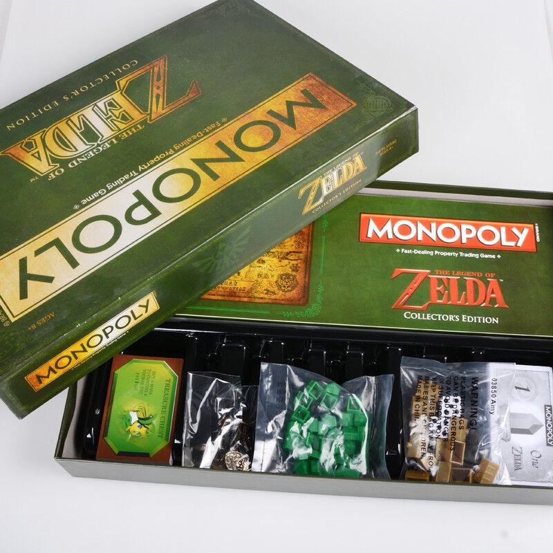 Neues monopol the legend of zelda collector 's edition familie brettspiel geschenk.