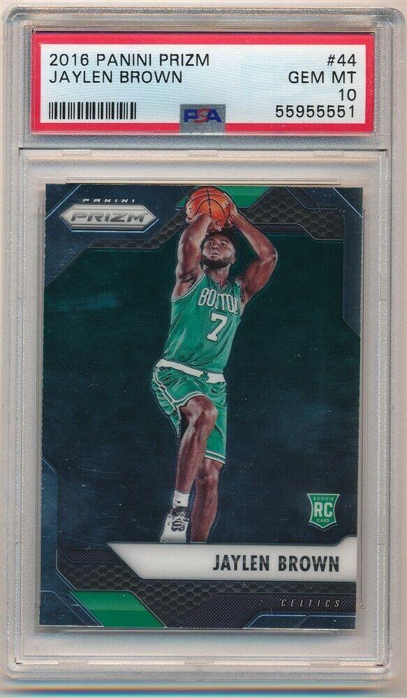 NBA rookie cards Jaylen Brown