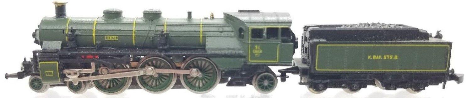 Marklin Z 8102 4-6-2 Bavarian Locomotive w/ Tender  tested   no box