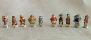 Complete-DISNEY-French-Porcelain-Feves-1-034-Mini-Figure-CHIP-amp-DALE-RESCUE-RANGERS