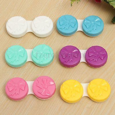 5 Stück Set Kontaktlinsen Behälter Linsenbox Aufbewahrung Box Linsenbehälter