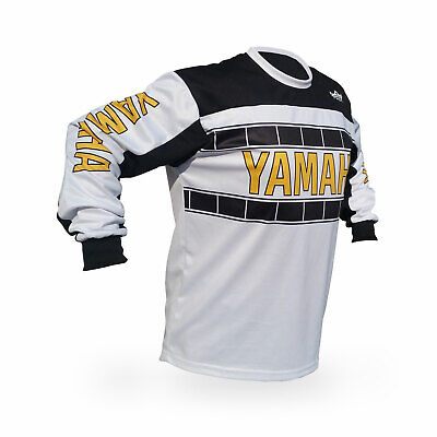 Reign VMX Yamaha Vintage Style Blue Motocross Jersey Size Large