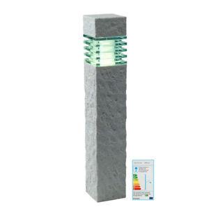 garden lights titan ip44 lampe stein effekt wei halogen oder led plug play ebay. Black Bedroom Furniture Sets. Home Design Ideas