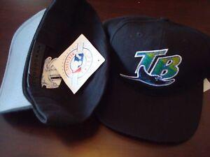 38e3f08221d TAMPA BAY DEVIL RAYS 1997 TWN RARE SCRIPT NEW VINTAGE 90 S HAT CAP ...