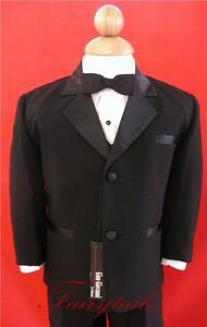 GINO-Boy-Black-Usher-Tuxedo-Suit-Size-From-Baby-to-Teen